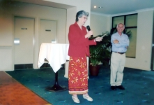 Entertainment at the 2009 Christmas Party